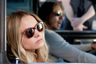 Dax Shepard and Kristen Bell in Hit and Run. Photo / Supplied