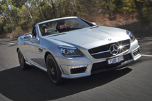 Mercedes-Benz SLK 55 AMG. Photo / Supplied