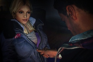 'Until Dawn' puts you in the centre of a tacky teen horror adventure. Photo / Supplied