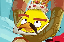 Freddie Mercury appears as an Angry Bird in the new YouTube trailer for the popular iPhone game. Photo / YouTube