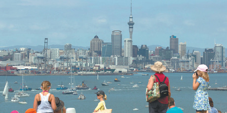 Auckland-wide sale volumes over winter 2012 have been back at 2007 levels, with some suburbs rising well above the peak five years ago. Photo / Brett Phibbs