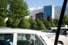 Traffic chaos is commonplace in Iran's capital. Photo / Jill Worrall