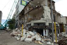 The impact of the Christchurch eaarthquake on it insurance business means Tower's profits will be down by $9.4m. Photo / NZ Herald 
