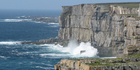 The dramatic cliffs of Inishmore. Photo / Jill Worrall
