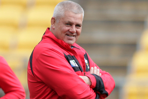 Warren Gatland. Photo / Mark Mitchell