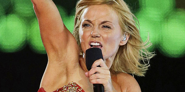 Geri Halliwell has dished details on her Russell Brand romance.  Photo / AP