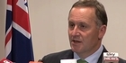 Watch: John Key discusses the sale of Mighty River
