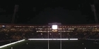 Watch: All Blacks: Lights go out at Westpac Stadium