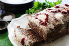 Tomato sauce-topped meatloaf is perfect for sandwiches. Photo / Doug Sherring