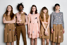 Models present Twenty-seven Names' new collection, I Thought You'd Never Ask. Photo / Richard Edghill