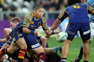 Otago won 15-10 to mark its first win over Southland in the national provincial competition since 2008. Photo / Getty Images