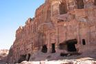The Royal Tombs at Petra. Photo / Jill Worrall