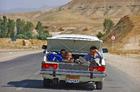 Ignoring the road rules outside Tehran. Photo / Vicki Virtue