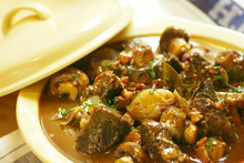 A stew's flavour, if not its juiciness, is enhanced by first frying off the meat. Photo / Carolyn Robertson