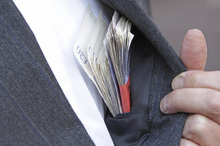 A Deloitte survey of almost 400 Australasian organisations reveals almost 20 per cent of respondents with overseas operations have suffered from bribery or corruption in the past five years. Photo / Thinkstock