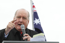 Alan Jones. Photo / Getty Images