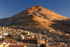 'The mountain that eats men', looms large over the Bolivian city of Potosi. Photo / Thinkstock