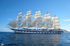 The decks of the Royal Clipper provide a unique location for yoga sessions. Photo / Creative Commons image by Flickr user drdad