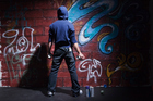 Calum Penrose believes the number of graffiti attacks is declining and will continue to do so under the council's new graffiti plan. Photo / Thinkstock