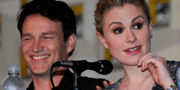 Anna Paquin and Stephen Moyer's twins have arrived early. Photo / AP