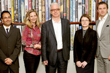 The Judges for the Man Booker prize for fiction, Bharat Tandon, Amanda Foreman, Sir Peter Stoth