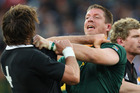 The Springboks won the last test match played between the two sides, which was an 18-5 victory in Port Elizabeth last year. Photo / Getty Images