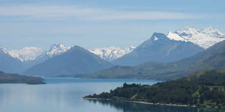 Glenorchy's picturesque surrounds make the mountain village an essential destination for trampers, sightseers and movie-makers. Photo / Paul Rush