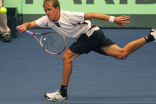 Kiwi tennis player Rubin Statham. Photo / John Borren.