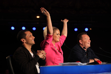 Judges Jason Kerrison, Rachel Hunter and Ali Campbell proved very comfortable within their roles on New Zealand's Got Talent. Photo / Supplied