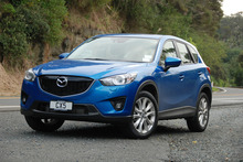 Mazda's CX-5 lets you get the job done in comfort. Photo / Jacqui Madelin 