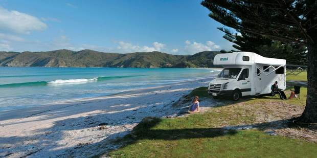 Campervans offer adventure in comfort. 'It's like living inside your very own transformer' - Rob Cox. Photo / Supplied