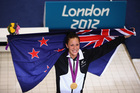 Sophie Pascoe has added a third silver to her three golds at the London 2012 Paralympic Games. Photo / Getty Images