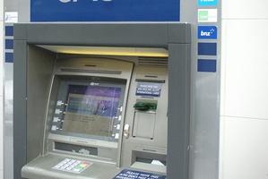 Cash machines disgorged $31,000. Photo / Jason Dorday