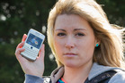 Cara Selway received hundreds of unwanted texts from participants in a Vodafone promotion. Photo / NZ Herald