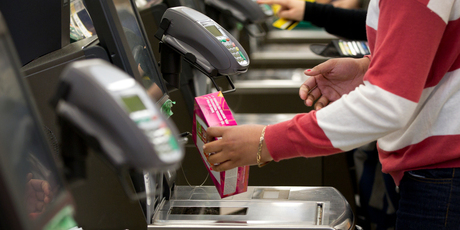 Self-checkout units will be extended beyond supermarkets and airports into hotels, banking and freight.  Photo / Sarah Ivey