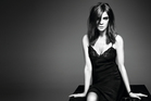 Carine Roitfeld at the M.A.C photoshoot. Photo / Supplied