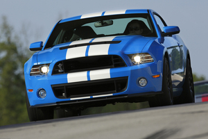 2013 Ford Shelby GT500 on track at Road Atlanta. Photo / Supplied
