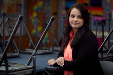 Gemma Humphreys has finally found work as a teacher in Mt Eden. Photo / Natalie Slade