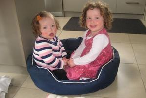 Arna (right) and Mila Hopkins. Photo / Supplied