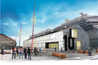 Waterfront Auckland says the refurbishment of Shed 10 will be completed by next April. Photo / Supplied