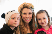 Fun, fairies and dressing up add to the atmosphere of a high tea. Photo / Jasmine Kovach