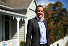 Real estate agent George Damiris pictured in Ponsonby. Photo / Getty