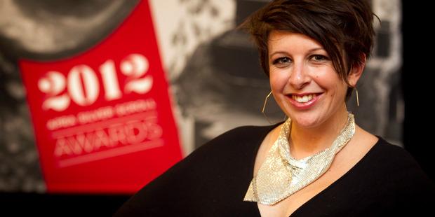 Loading Stephanie Brown, aka LIPS, won NZ's top songwriting prize. Photo / Natalie Slade