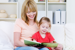 Reading to children helps them to build a vocabulary. Photo / Supplied