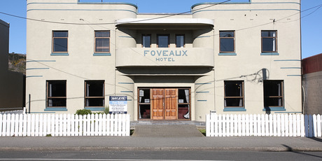The Foveaux Hotel comes with its own ghost. Photo / Supplied