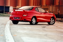 Hyundai's coupe definitely helped get the flagging brand noticed. Photo / Supplied