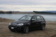 The X5 M50d has it all, with looks, power, safety, driver-friendly technology ... and a turn of speed that will never be used (legally) in New Zealand.