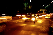 Standard headlights may not always provide enough range and time to react to hazards.