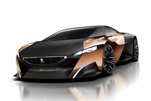The Onyx' exterior panels are mirror-polished copper and black carbon-fibre. Photo / Supplied
