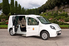 Pope Benedict XVI now has two new electric vehicles custom-made to meet his mobility needs, donated by French carmaker Renault.